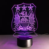 Manchester City Optical Illusion Light