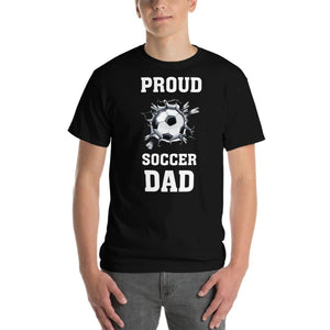 Proud Soccer Dad T-Shirt - T-Shirts