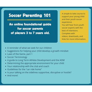 Smart Soccer Parenting - Video Guide