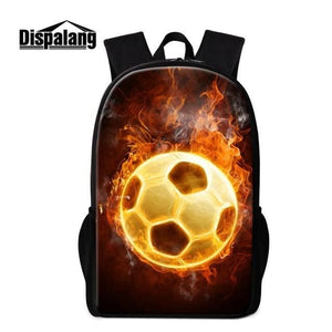 Soccer backpack - Gold