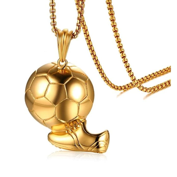 Soccer Boot Necklace