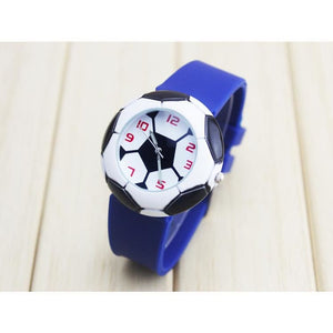 Soccer Circle Watch - Blue