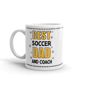 Soccer Dad And Coach Mug - Drinkware