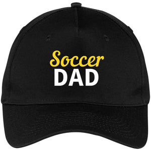 Soccer Dad Baseball Cap - Black / One Size - Hats