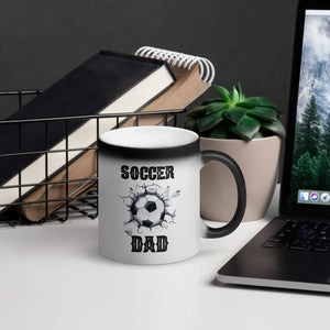 Soccer Dad Color Changing Mug - Drinkware