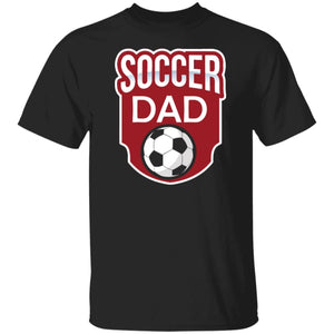 Soccer Dad T-shirt - Black / S - T-Shirts