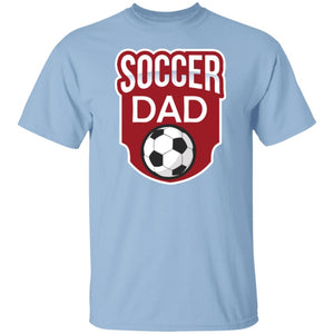 Soccer Dad T-shirt - Light Blue / S - T-Shirts