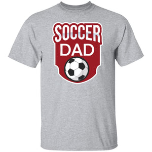 Soccer Dad T-shirt - Sport Grey / S - T-Shirts