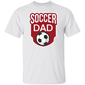 Soccer Dad T-shirt - White / S - T-Shirts