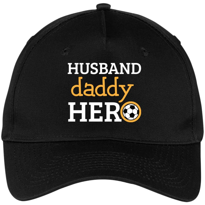 Soccer Daddy Baseball Cap - Black / One Size - Hats