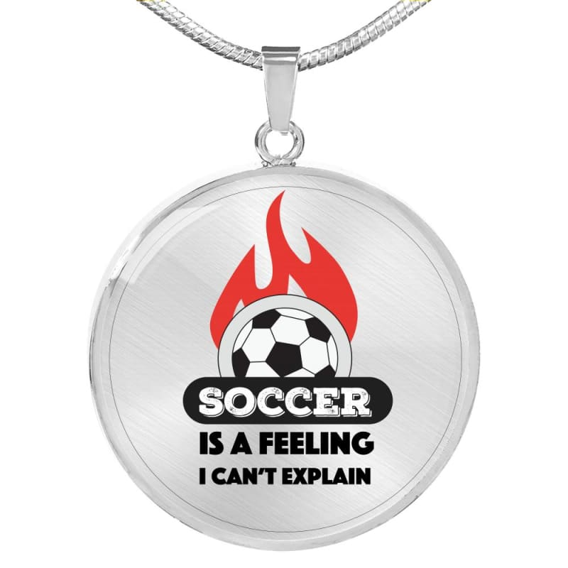 Soccer is a Feeling - Luxury Necklace - Luxury Necklace