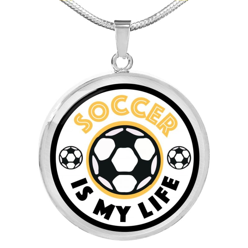Soccer is My Life - Luxury Jewelry - Luxury Necklace