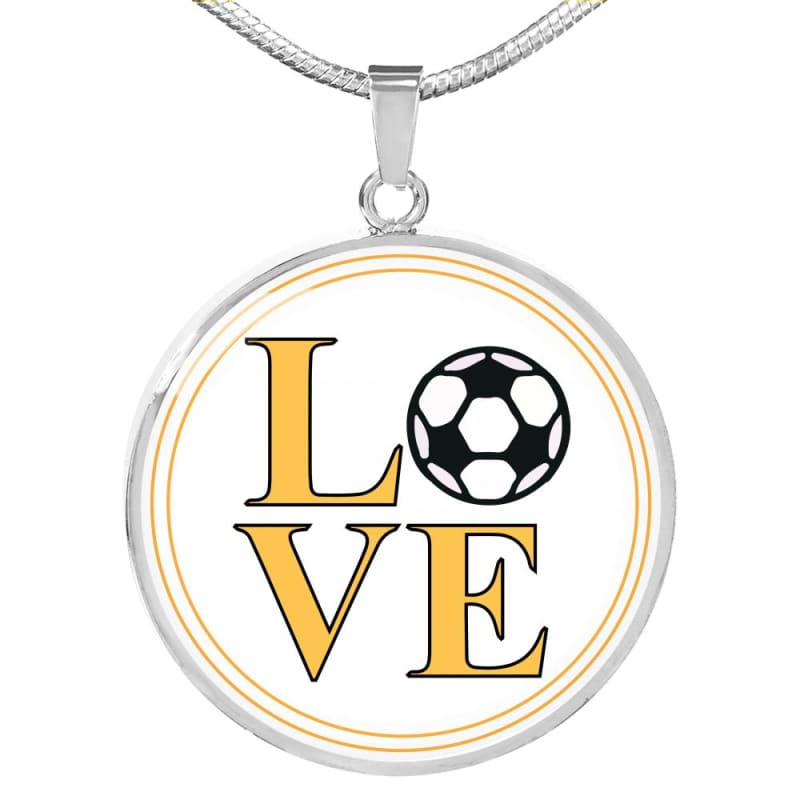 Soccer Love - Luxury Necklace - Jewelry