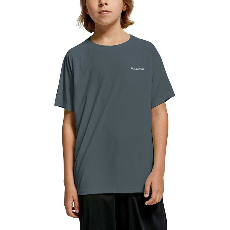 Unisex Jerseys Multiple Colors for Kids - Gray / Small -