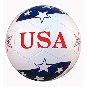 Western Star Premium Official Size 5 USA Soccer Ball - Back