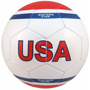 Western Star Premium Official Size 5 USA Soccer Ball - USA13
