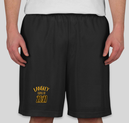 LANGLEY 2021 Men's Athletic Performance Short