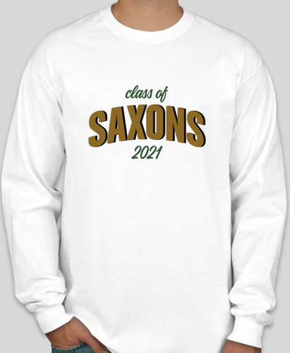 SAXONS Class Of 2021 Long Sleeve Tee