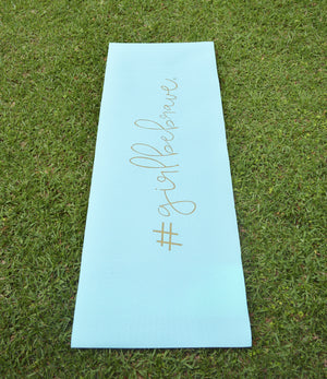 Girl Be Brave Exercise & Yoga Mat