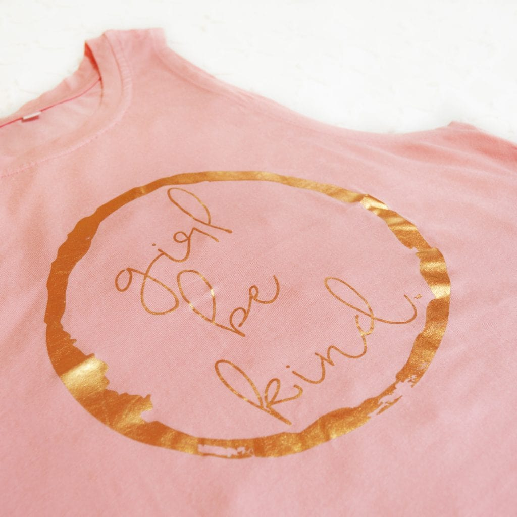 Girl Be Kind Athletic Tank