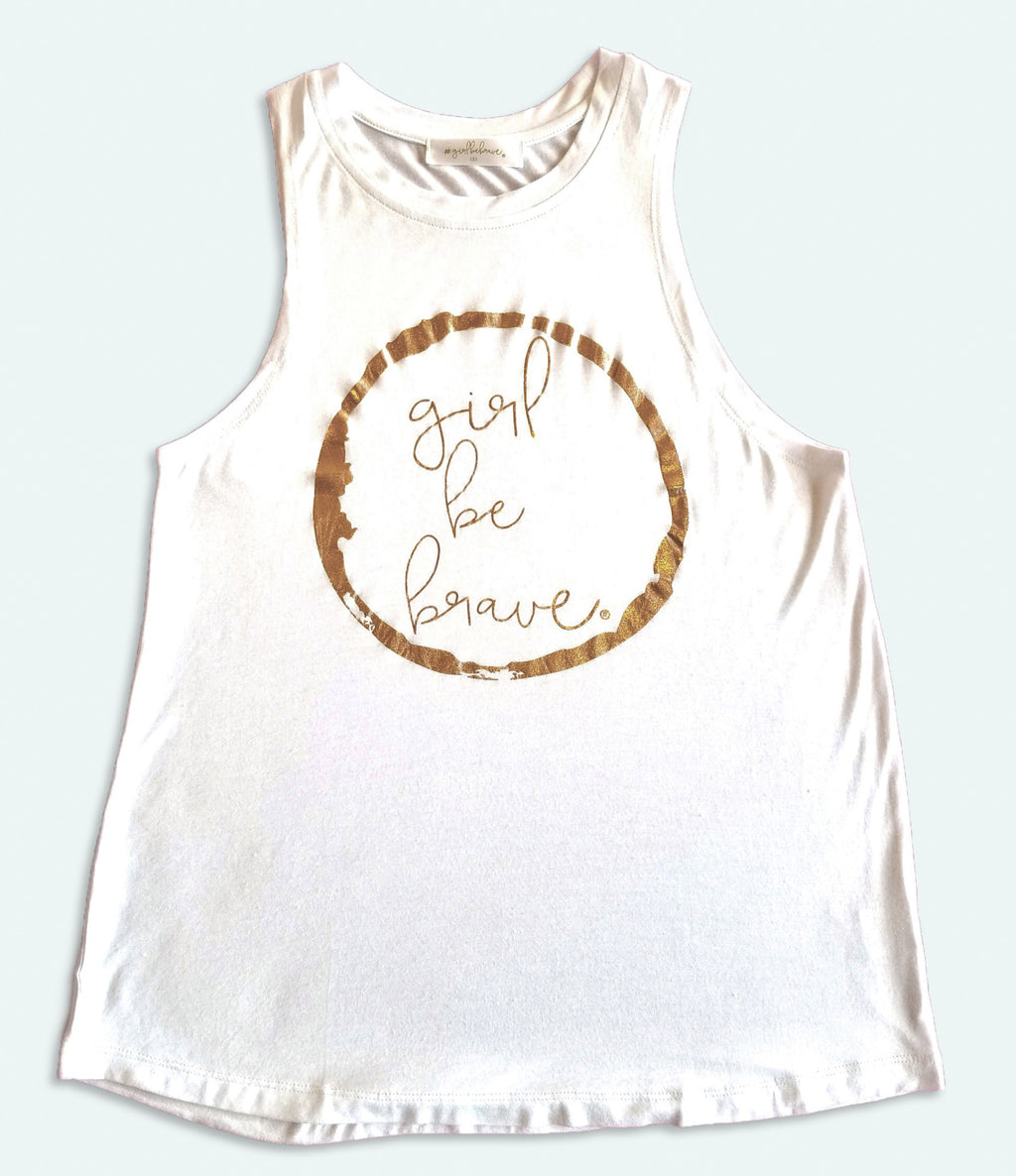 Girl Be Brave Athletic Tank
