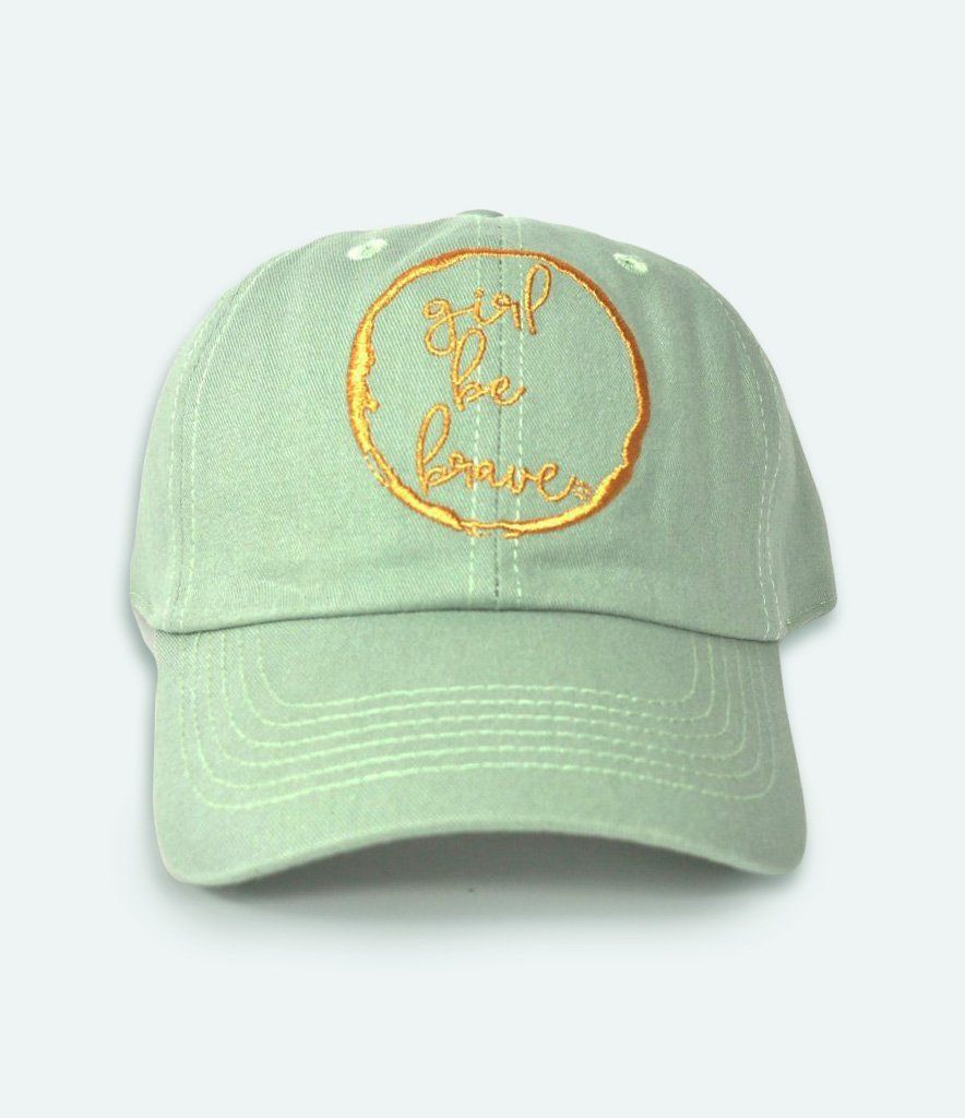 Girl Be Brave Cap Girl Be Brave Green