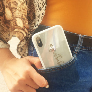 IPhone 10 clear phone cover