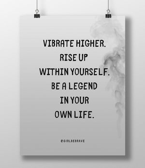 Vibrate Higher Poster