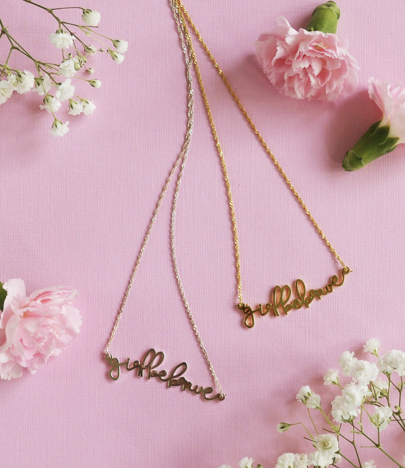 Girl Be Brave Necklace