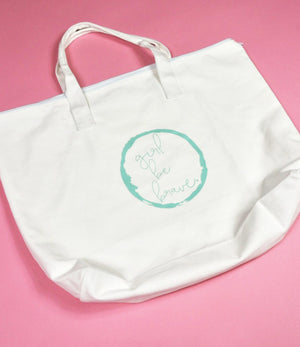 Girl be Brave Tote bag