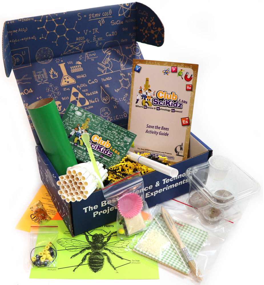 Club SciKidz STEM Box Save The Bees