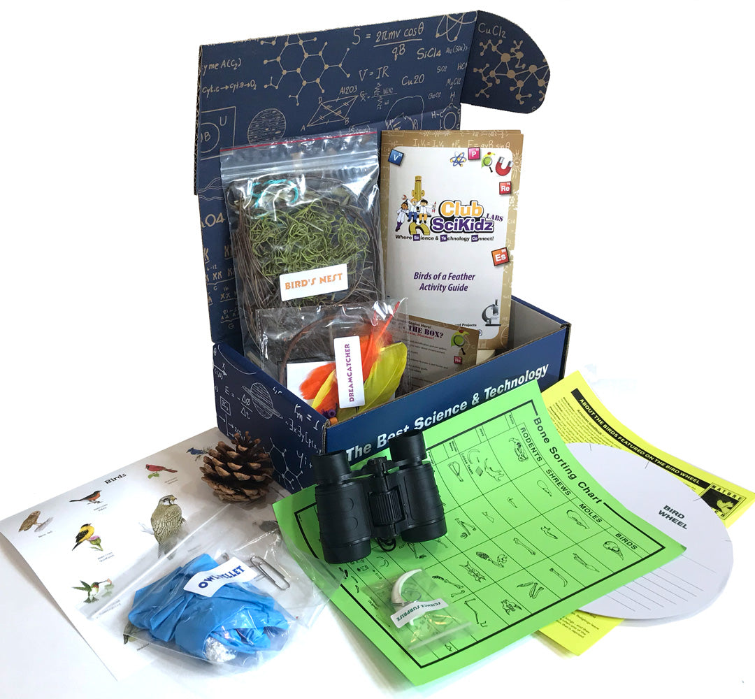 Club SciKidz STEM Box Birds of a Feather