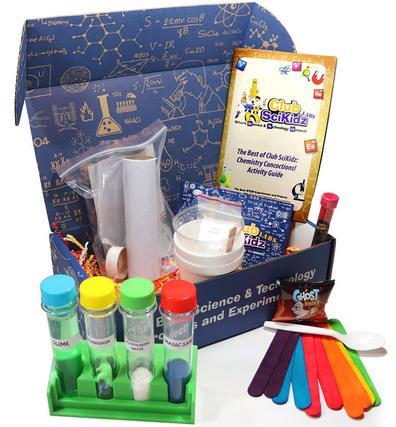 Club SciKidz STEM Box The Best Of Club SciKidz: Chemistry Concoctions!