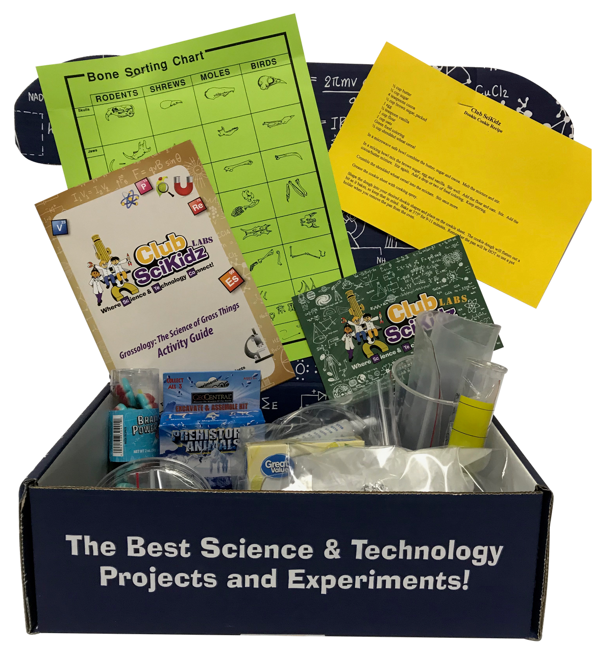 Club SciKidz STEM Box Grossology: The Science of Gross Things