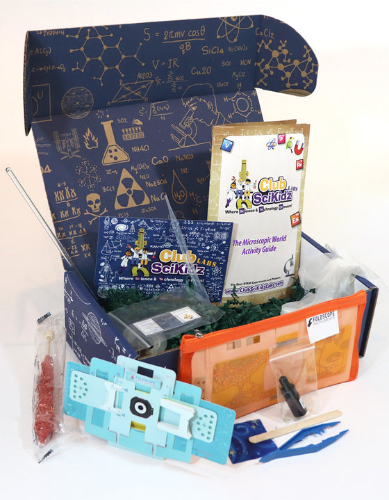 Club SciKidz STEM Box The Microscopic World