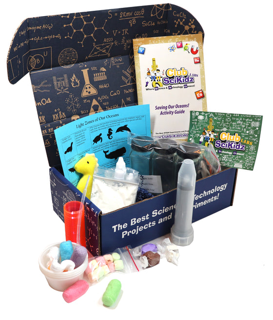 Club SciKidz STEM Box Save Our Oceans