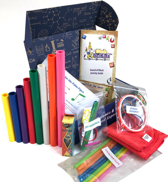 Club SciKidz STEM Box The Sounds of Music Science Kits For Kids