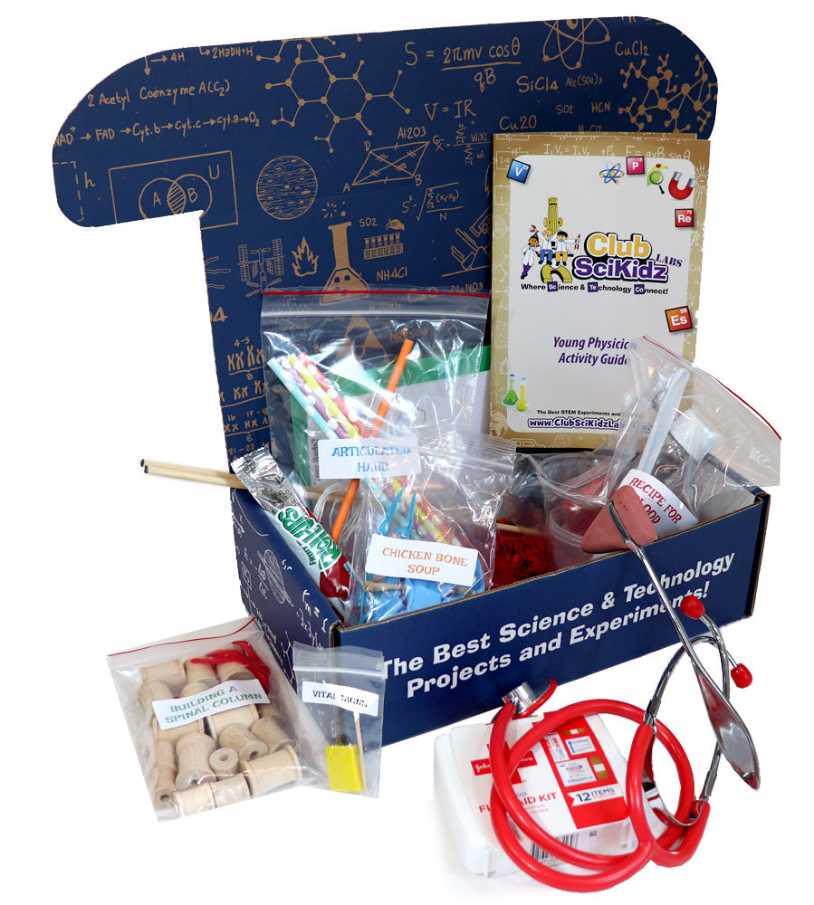 Club SciKidz STEM Box Young Physician-I want to be a doctor!
