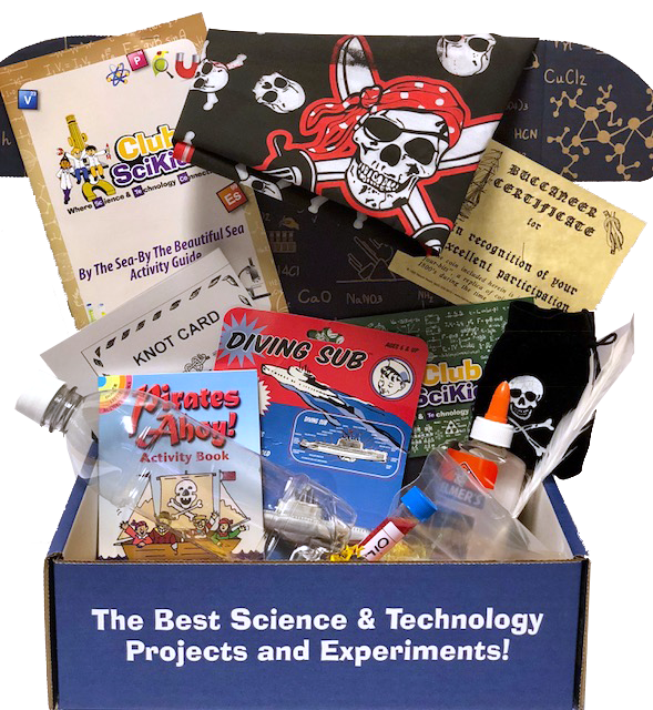 Club SciKidz STEM Box By The Sea-By The Beautiful Sea