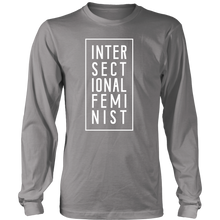 Cute Feminist T Shirt Intersectional Feminist Long Sleeve Tee - Everyday Unicorns
