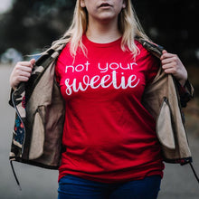 Not Your Sweetie Short-Sleeve Unisex T-Shirt