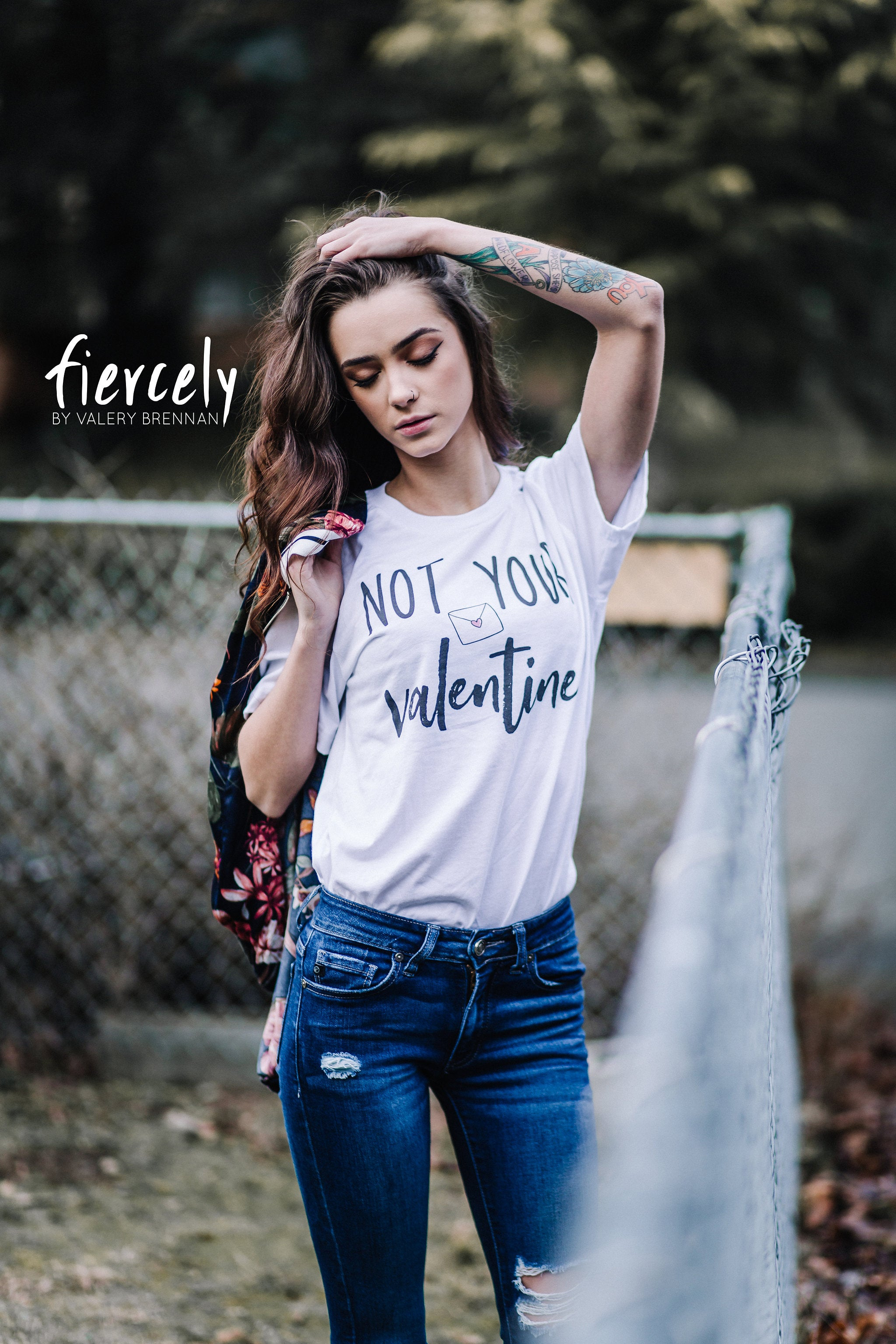 Cute Feminist T Shirt Not Your Valentine Short-Sleeve Unisex T-Shirt - Everyday Unicorns