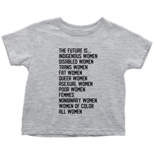 Cute Feminist T Shirt The Future Is All Women (Kids & Babies) - Everyday Unicorns