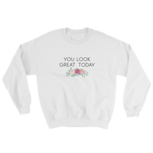 Cute Feminist T Shirt Copy of You Look Great Today Short-Sleeve Sweatshirt - Everyday Unicorns