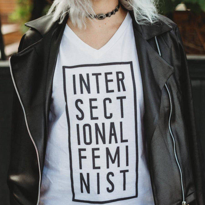 Cute Feminist T Shirt Intersectional Feminist Unisex Short Sleeve T-Shirt - Everyday Unicorns