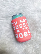 Cute Feminist T Shirt I'm Not Bossy I'm the Boss Can Holder - Ships fast! - Everyday Unicorns