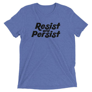 Cute Feminist T Shirt Resist and Persist short sleeve tee - Ships fast! - Everyday Unicorns