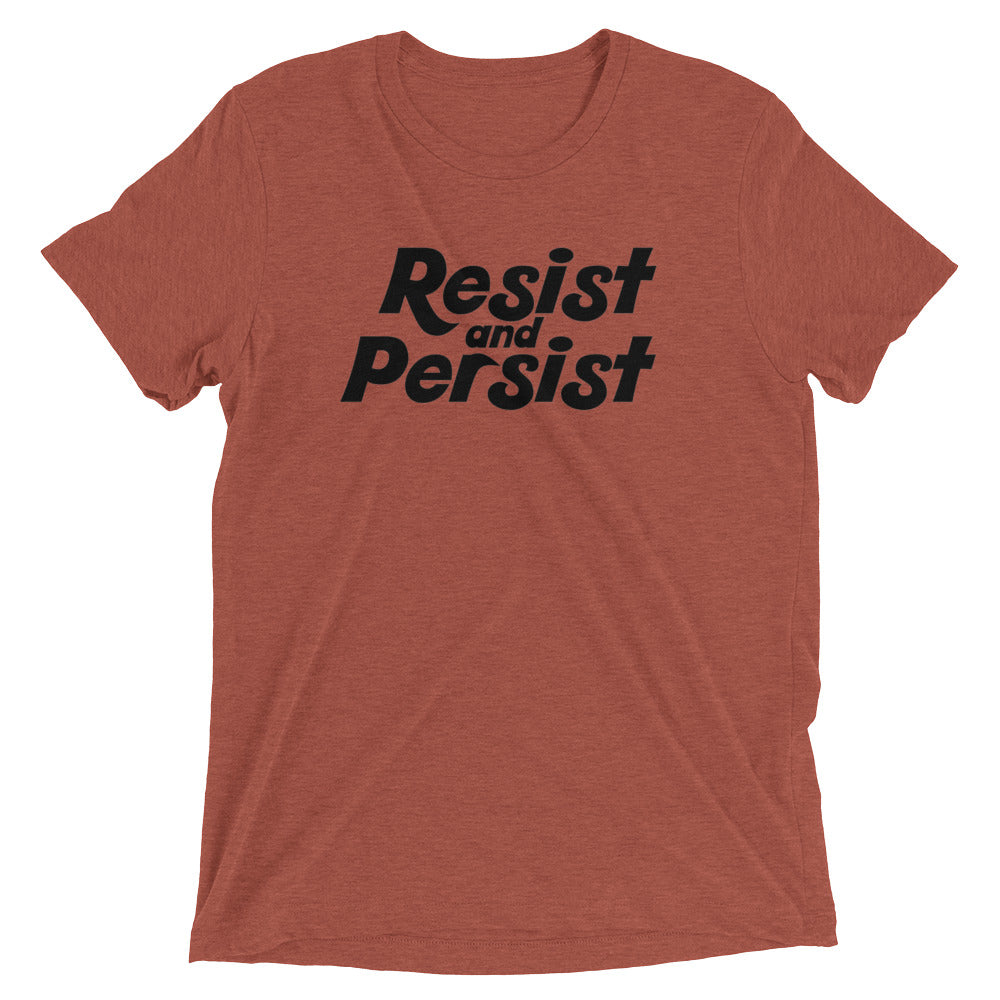 Cute Feminist T Shirt Resist and Persist Short sleeve t-shirt - Everyday Unicorns