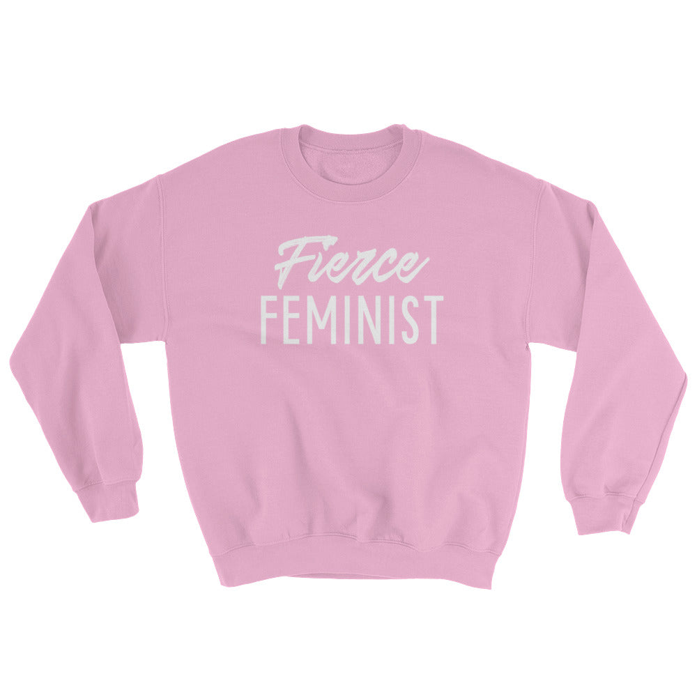 Cute Feminist T Shirt Fierce Feminist Sweatshirt - Everyday Unicorns