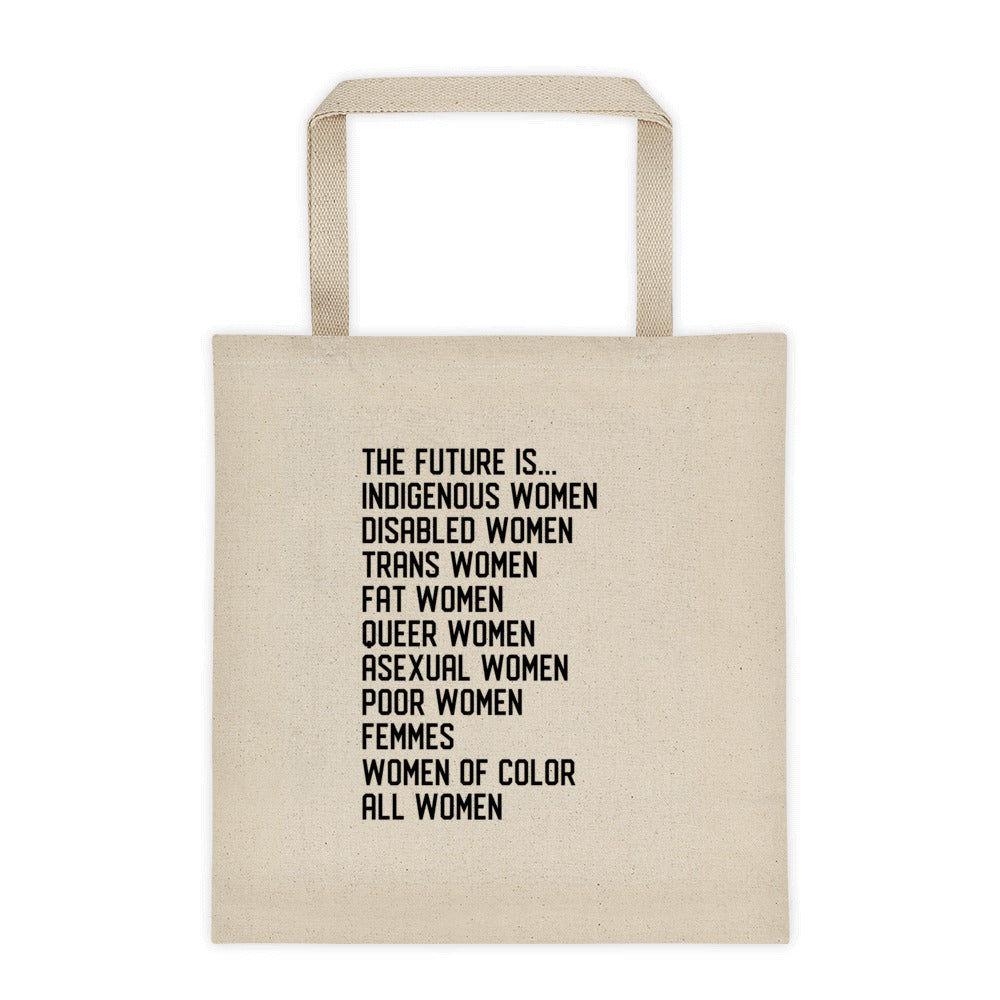 Cute Feminist T Shirt The Future is All Women Tote bag - Everyday Unicorns